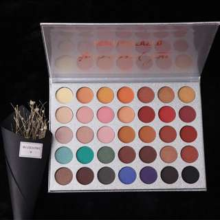 Eyeshadow palette beauty glazed