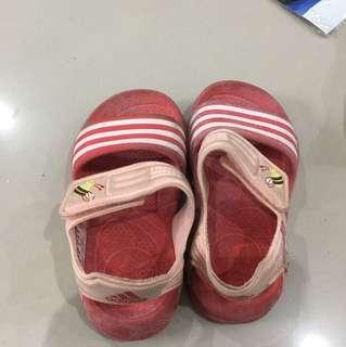 Sendal adidas kids size 23 original