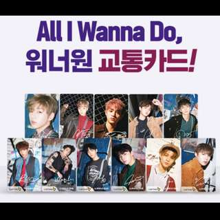 Wanna One Cashbee交通卡