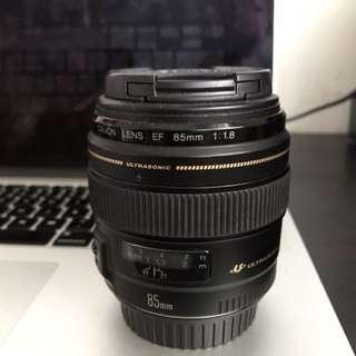 Canon 85mm F1.8 Lens