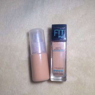 Maybelline Fit Me! Matte Poreless Foundation (230 Natural Buff) for Normal to Oily skin