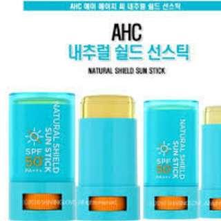 Natural sun stick /UV stick SPF50
