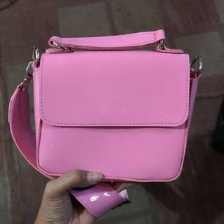 jelly bag zara pink
