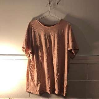 ASOS Blush Oversized T-Shirt *BRAND NEW*