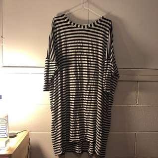 ASOS Brand Oversized Striped Dress
