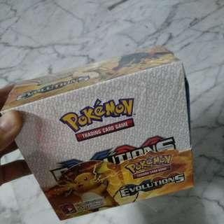 36 packs x 9 cards Xy evolution Pokemon Card whole set