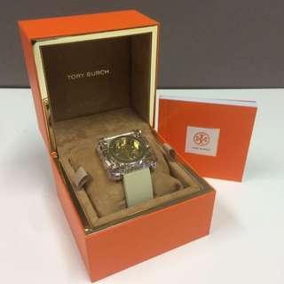 Brand New Tory Burch Square Wrist Watch (women)