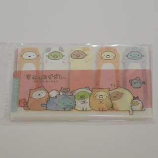 🦄Sumikko Gurashi Sticky Index // memo