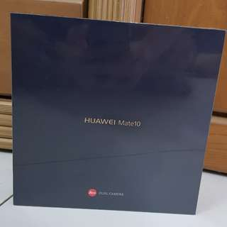 HUAWEI MATE 10(BLACK) SEALED