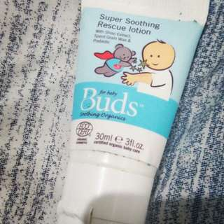 buds soothing rescue lotion