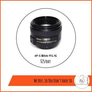 Nikon Prime Lens Rental!