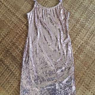 F21 sequined dress