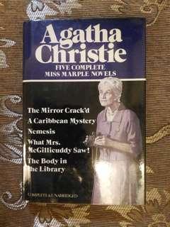 Agatha Christie 5 in 1 book
