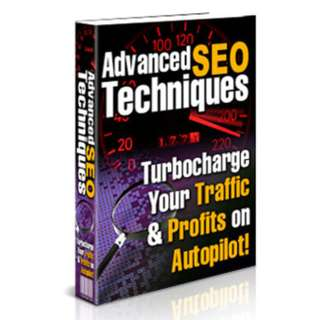 Advanced SEO Techniques: Turbocharge Your Traffic & Profits on Autopilot! eBook