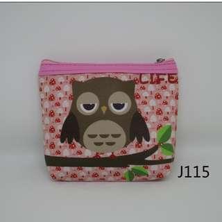 J115貓頭鷹零錢包