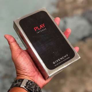 Authentic Givenchy Play Intense Perfume 100ml. Limited Stock First Come First Served 😎👍