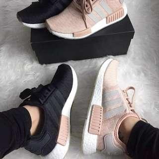 6a9997248def  EXCLUSIVE  Adidas NMD R1 Millennial Beige Pink   Grey   Black