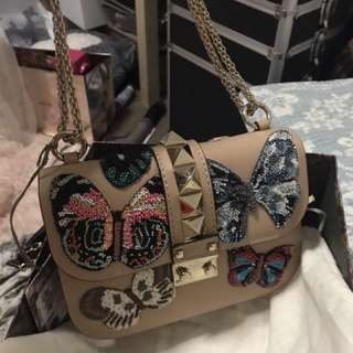 Brand new authentic valentino lock glam bag