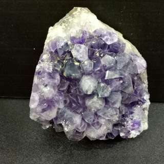 Natural amethyst crystal stone