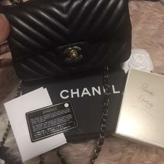 Brand new chanel mini rectangular