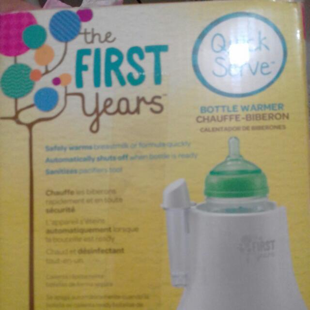 1st Years Bottle Warmer