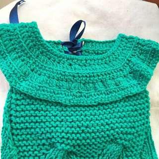Customised pet sweater handmade