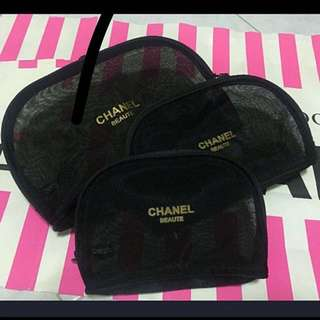 Channel Makeup pouch / gift / key pouch