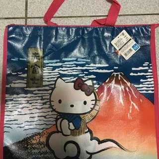Hello Kitty大手提袋⋯正日本帶回