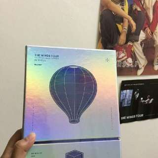 (SEALED) BTS The Wings Tour in Seoul Blu-Ray