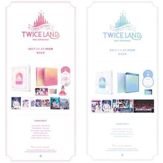 # Twice 1st Tour TWICELAND - THE OPENING - BLURAY / DVD