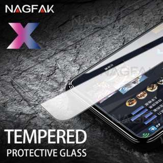 iPhone X /10 tempered glass
