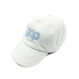 Gap Kids White Velcro Tape Cap