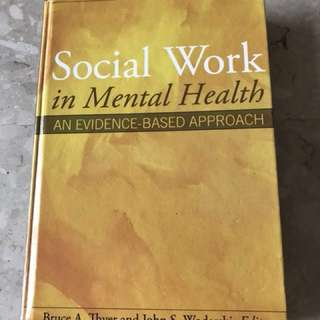 SW3217 Mental Health and Illness Textbook