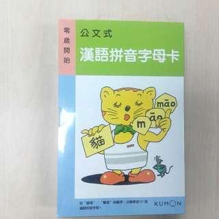 BN 汉语拼音字母卡整套 hanyupingying card
