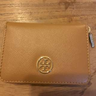 New AUTHENTIC Tory Burch Zip Coin Case Small Wallet mini Card Holder