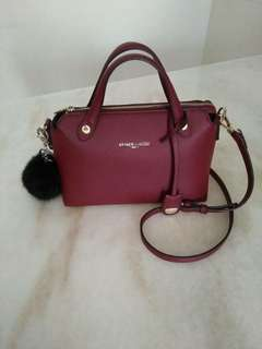 Authentic PIERRE CARDIN Sling and hand bag