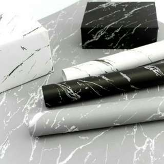 Marble Pattern Wrapping Paper (5 pieces)