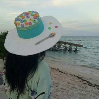 Topi Pantai Summer Hat