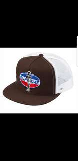 680dd88ac79 Supreme Hysteric Glamour Mesh Back 5 Panel Cap Brown