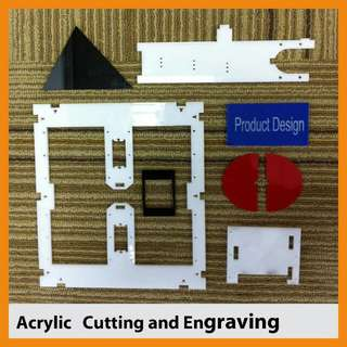 Acrylic & wood Cutting And Engraving Services