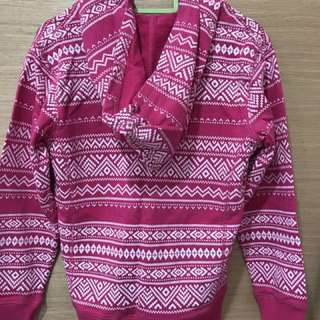 Girls hoodie jacket size 130