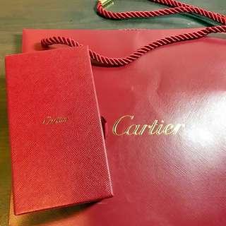 Authentic Brand New Cartier Jewellery Box and Diamond and Gold Cleaning Kit