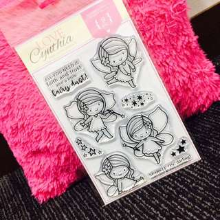 [INSTOCK] Love Cynthia's Clear Stamp - Fairy Dust ✨
