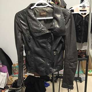 Danier Leather Bomber Jacket