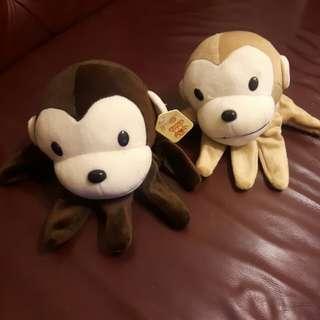 🚚 手指玩偶(猴子)
