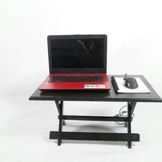 Meja Laptop  &  Belajar Lipat Serba