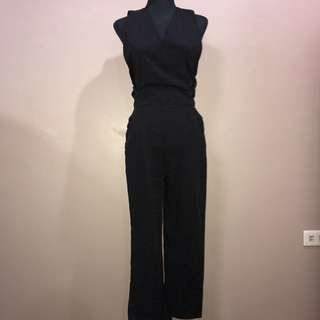 Formal sexy back jumpsuit