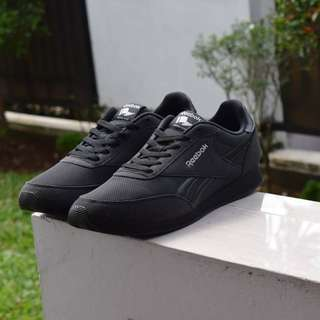Reebok Royal CL Jog 2 SEA All Black