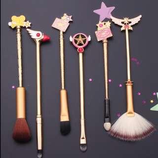 Cardcaptor Sakura Makeup Brushes