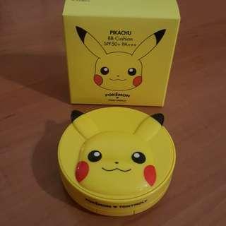 BNIB Tonymoly Pikachu BB Cushion